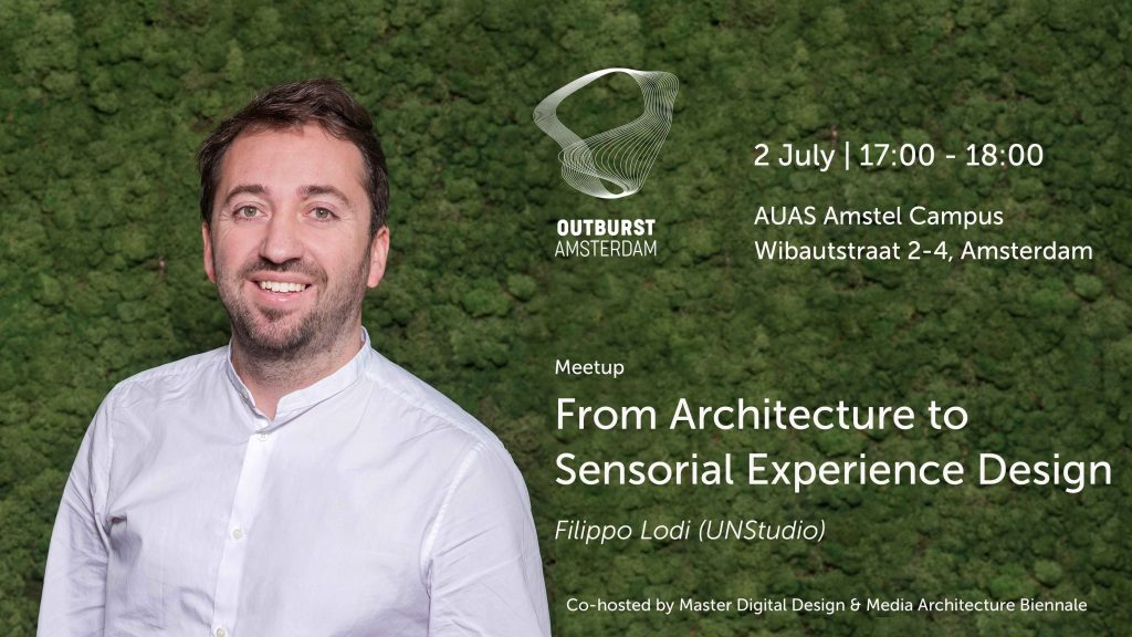 MAB & MDD Meetup with Filippo Lodi (UNStudio): From Architecture to Sensorial Experience Design | July 2, 2019