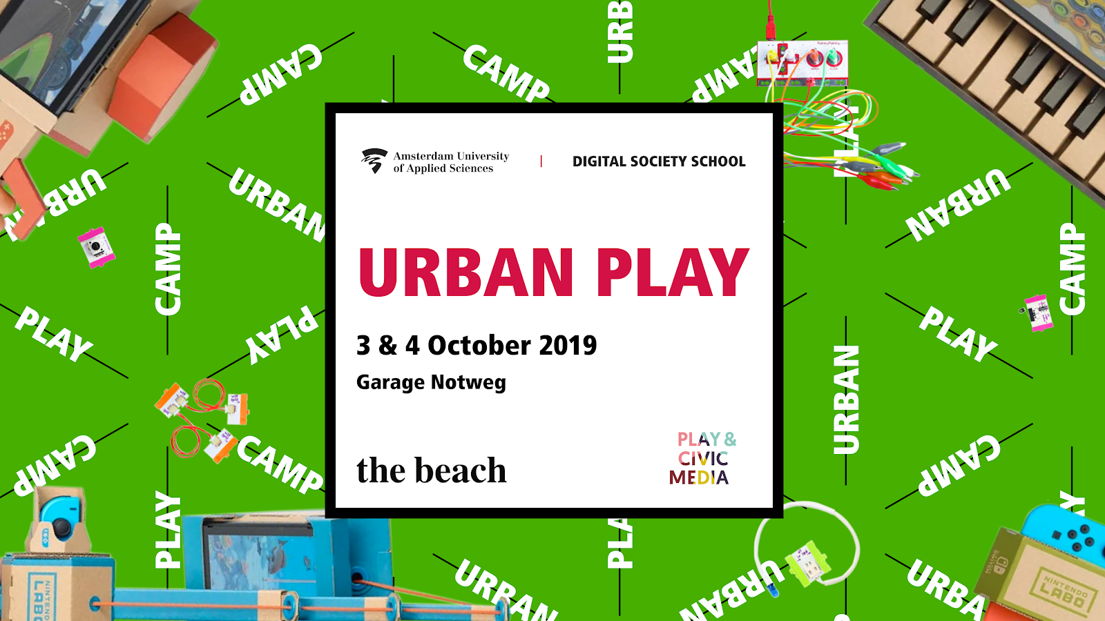 Trust in Play: Urban Play Camp