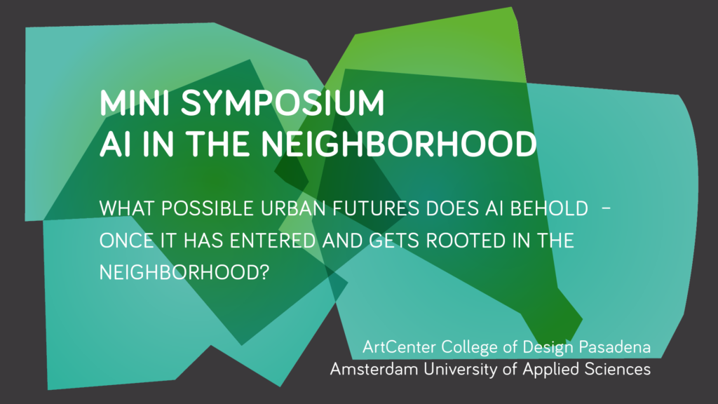 MINI-SYMPOSIUM | AI in the Neighborhood